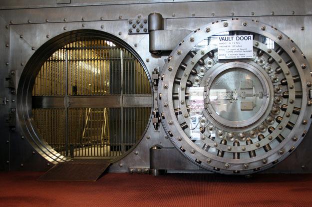 Хранилище одного из швейцарских банков